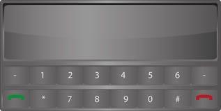 Téléphone horizontal Images libres de droits