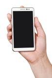 Téléphone intelligent blanc PDA   Image stock