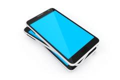 Téléphone intelligent de dispositifs de Digital Photo libre de droits
