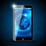 Téléphone intelligent de vecteur illustration stock