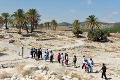 Téléphone Megiddo Photo stock
