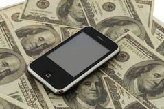 Téléphone mobile Photo libre de droits