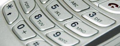Téléphone mobile abstrait Photographie stock