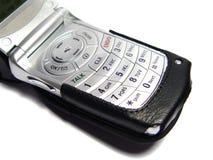 Téléphone mobile avec le cas Photos libres de droits