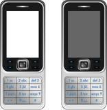 Téléphone mobile de Handphone de vecteur Images libres de droits