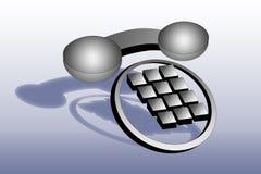Téléphone moderne Images libres de droits