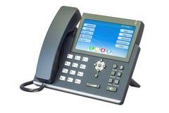 Téléphone moderne d'IP, rendu 3D Photo stock