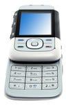 Téléphone moderne d'isolement Photo stock