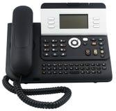 téléphone mou réglé de bureau de 6 clés Image libre de droits