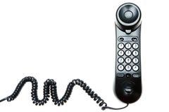 Téléphone noir Images libres de droits