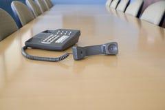 Téléphone outre du crochet Images libres de droits