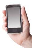 Téléphone portable à disposition Photos stock