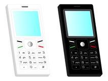 téléphone portable 3D Images libres de droits