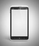 Téléphone portable androïde avec l'écran blanc illustration libre de droits