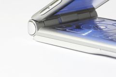 Téléphone portable avec l'éclairage 02 images stock