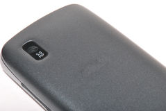 Téléphone portable avec l'appareil-photo Photographie stock