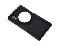 Téléphone portable avec la puce de rfid Photo stock