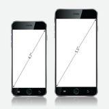 Téléphone portable blanc réaliste Illustration EPS10 de vecteur illustration de vecteur