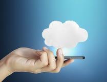 Téléphone portable d'écran tactile Image libre de droits