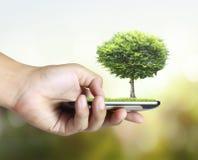Téléphone portable d'écran tactile Images stock