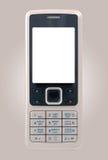 Téléphone portable d'affaires avec l'affichage propre Image stock