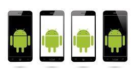 Téléphone portable d'Android illustration libre de droits