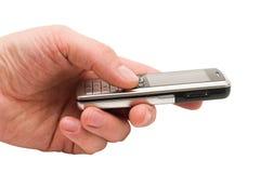 Téléphone portable d'isolement Photo libre de droits