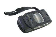 Téléphone portable dans le cache mou Image libre de droits