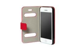 Téléphone portable dans le sac Image libre de droits