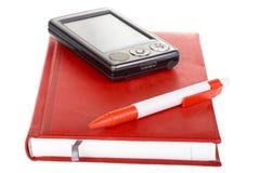 Téléphone portable de Pda avec le crayon lecteur Image libre de droits