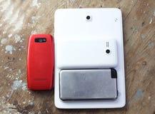 Téléphone portable différent Image libre de droits