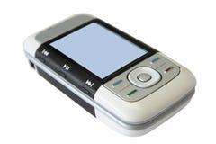Téléphone portable en fonction Photo libre de droits