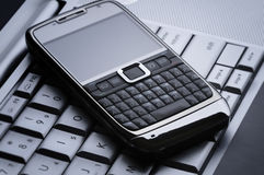 téléphone portable intelligent