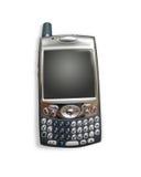 Téléphone portable/PDA avec des chemins de découpage Photographie stock