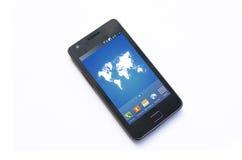 Téléphone portable prêt à appeler Photographie stock libre de droits