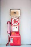 Téléphone public Images stock