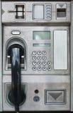 Téléphone public de carte de cabine téléphonique Images libres de droits