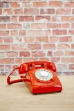 Téléphone rotatoire Photos stock