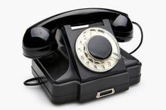 Téléphone rotatoire de cru Photos stock