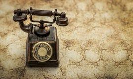 Téléphone rotatoire de cru Image stock