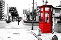 Téléphone rouge Photo stock