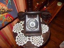Téléphone 20s de vintage Photographie stock