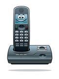 Téléphone sans fil Photographie stock