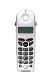 Téléphone sans fil au-dessus de blanc Images stock