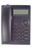 Téléphone simple de bureau Photo stock