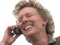 Téléphone Talk01 photos libres de droits