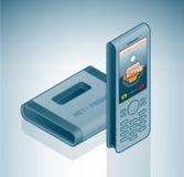 Téléphone visuel sans fil d'Internet Photos stock