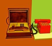 Téléphones Photo libre de droits