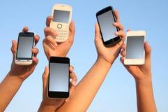 Téléphones Photo stock