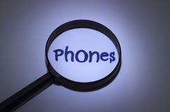 téléphones Images stock